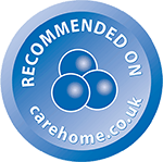 Recommended on Carehome.co.uk